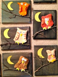 Art with Mr. Giannetto: 1st Grade: Clay Owls