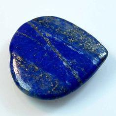 44Ct UNIQUE Natural Lapis Lazuli Heart (29mm X 29mm) Cabochon