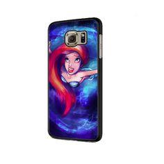 Ariel Little Mermaid In Galaxy Space Samsung Galaxy Note 9 Case Samsung Galaxy S6, Galaxy S5 Case, Galaxy Note 9, Nexus 5 Case, Galaxy Space, Iphone 7 Plus Cases, The Little Mermaid, Ariel, Galaxies