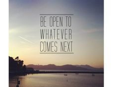 Whatever tomorrow brings...