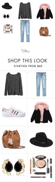 """""""Untitled #3775"""" by smaranda-panfil ❤ liked on Polyvore featuring Gap, True Religion, adidas, UGG, Lack of Color and Bounkit"""