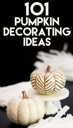 101 Fabulous Pumpkin Decorating Ideas