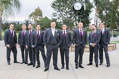 Alta Vista Country Club in Placentia wedding with purple wedding colors gorgeous bride and groom in Irvine California wedding photographs based in Los Angeles top wedding photographers of the year