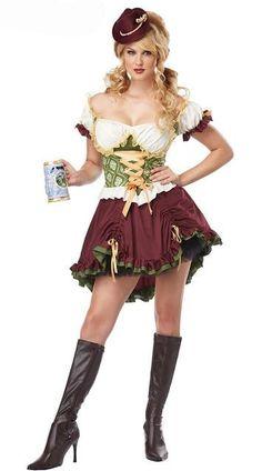 german beer costume for women beer maid costume german beer girl costume halloween cosplay clothing Costumes Sexy Halloween, Hallowen Costume, Girl Costumes, Costumes For Women, Women Halloween, Halloween Dress, Costume Ideas, Halloween Carnival, Spirit Halloween