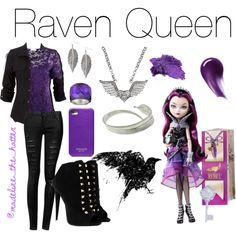 Raven Queen - Polyvore
