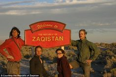 Zaqistan was created 10 years ago and is extremely remote - it is 60 miles away from the nearest town