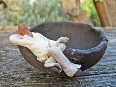 Mermaid Statue GO 17819  Miniature Garden Bonsai