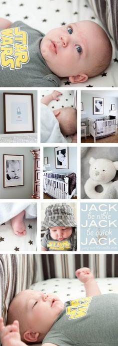 simple boys nursery