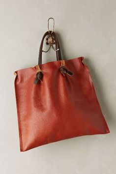 Tucked Pinch-Pleat Tote - anthropologie.com