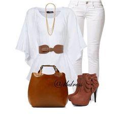 Blanco&marron
