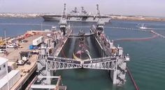 This Time Lapse Of A Nuclear Fast Attack Sub Entering Dry Dock Is Sweet
