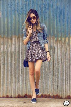 Lindo outfit para una tarde de verano/primavera: