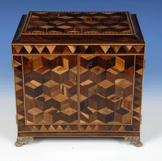 Tunbridge Ware Cabinet (England)