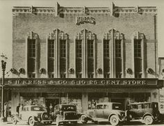 Cal Berkeley SH Kress Store