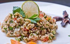 Quinoa figues abricots taboulé
