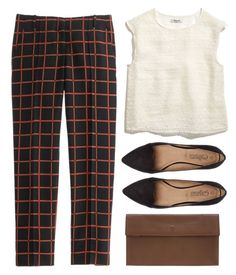 """The Top"" by nandim ❤ liked on Polyvore featuring Maison Margiela, Madewell, J.Crew, women's clothing, women, female, woman, misses and juniors"