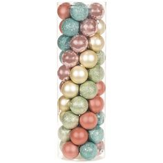 Pastel Ball Ornaments