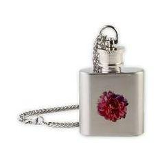 Flask Necklace> flowersbyfrank.com