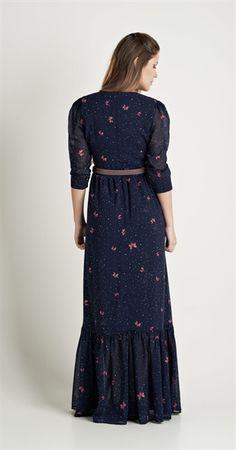 Vestido Longo Borboflor | Lookbook | Antix Store