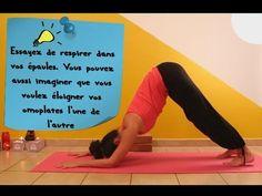Tuto de Yoga - Chien la Tête en Bas avec Ariane - YouTube