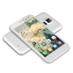 BUON REGALO ECONOMICO 5'' DOOGEE VOYAGER2 DG310 Dual Flashlights IPS Screen 3G Smartphone Android 4.4 MTK6582 1.3GHz Quad Core Telefono Cellulare Dual SIM 1G RAM 8G ROM OTG OTA GPS WIFI, BIANCO: Amazon.it: Elettronica