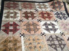 Primitive Gatherings class....gorgeous quilt!