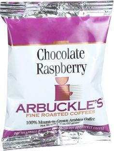 Arbuckles' Coffee - Chocolate Raspberry - 1.3 oz - Case of 10