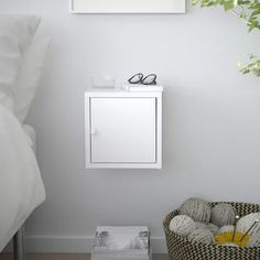 LIXHULT Cabinet, metal, white, 9 It's edginess in a box. Create an asymmetric or unexpected storage solution and fill it with your things. Dining Cabinet, Cabinet Doors, White Cabinet, Cupboard Storage, Storage Cabinets, Ikea Lixhult, Armoire, Large Storage Units, Workshop Cabinets