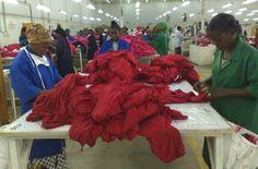 garment factory in Tanzania2