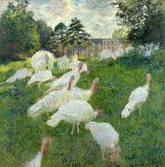 Monet - Les Dindons