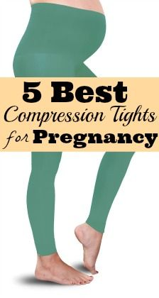5 Best Compression Tights for Varicose Veins During Pregnancy
