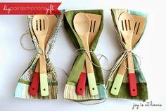 DIY Painted Spoons Gift