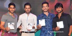 Young heroes at #CourierBoyKalyan Audio Launch function!