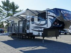2016 Cyclone 4200 Floor Plan Toy Hauler Heartland Rv For And Toys