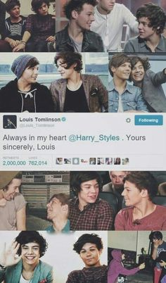 Find images and videos about louis tomlinson, Harry Styles and louis on We Heart It - the app to get lost in what you love. One Direction Fotos, One Direction Wallpaper, One Direction Harry Styles, Harry Styles Wallpaper, One Direction Pictures, Larry Stylinson, Liam Payne, Niall Horan, Zayn Malik