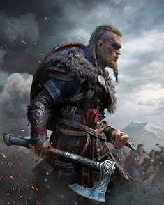Get some Assassin's creed valhalla wallpaper HD images of Eivor, Viking, Clan game art Cover Screenshots to use as iPhone android wallpaper phone backgrounds Arte Assassins Creed, Assassins Creed Odyssey, Viking Art, Viking Warrior, Vikings, Valhalla, Assassin's Creed Wallpaper, Viking Wallpaper, Character Art