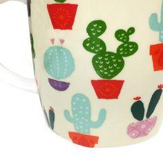 Boho Cactus Mug, Multi
