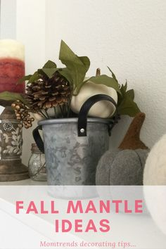 Fall Mantle Decor Id