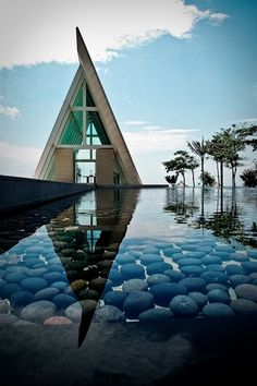 The Chapel at the Conrad, Bali.