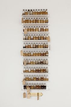 Ultimate spice rack artspotting: Candy Jernigan at Greene Naftali via Contemporary Art Daily Kitchen Interior, Interior And Exterior, Kitchen Design, Contemporary Art Daily, Spice Jars, Kitchen And Bath, My Dream Home, Home And Living, Interior Inspiration