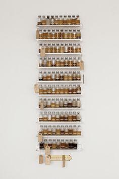 Ultimate spice rack artspotting: Candy Jernigan (1952-91) at Greene Naftali via Contemporary Art Daily