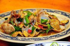 clams stir fry | Taiwanese cuisine