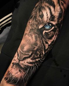Back tattoos girls and boys Tiger Forearm Tattoo, Mens Tiger Tattoo, Tiger Eyes Tattoo, Half Sleeve Tattoos Forearm, Animal Sleeve Tattoo, Lion Tattoo Sleeves, Lion Head Tattoos, Cool Forearm Tattoos, Best Sleeve Tattoos