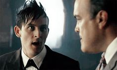This gif hunt contains gifs of Robin Lord Taylor. None of these gifs are mine and I take no credit for them. If any of the gifs are yours, feel free to send me an ask and I'll give you credit. Gotham Season 2, Cameron Monaghan Gotham, Riddler Gotham, Penguin Gotham, Robin Taylor, Gotham Cast, American Crime, Lord & Taylor, Favorite Tv Shows