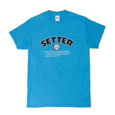 Elite Setter Volleyball Short Sleeve Tee Shirt