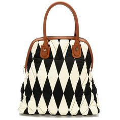 bull dog harlequin lady jane bag