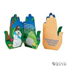 Praying in the Garden Handprint Craft Kit Vbs Crafts, Church Crafts, Bible Crafts, Easter Crafts, Garden Crafts, Sunday School Crafts For Kids, Sunday School Classroom, Craft Kits, Craft Supplies