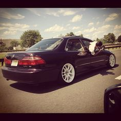 Girl I know your honda looks good but dam watch out lol send to us by @Lopez_Tnb #honda accord year 2000 #streetaddicts - @streetaddicts- #webstagram