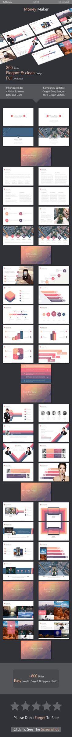 Monos - Minimal Powerpoint Template - elegant powerpoint template