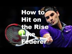 Secret Forehand Timing Tip: Learn How to Hit Forehands on the Rise Like ...